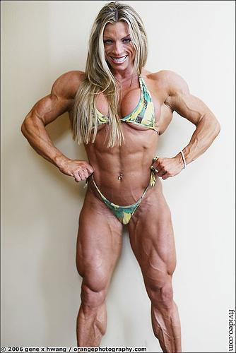 Female body builder wrestlers