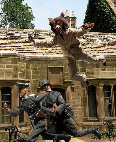Real Werewolf Attacks This werewolf attack on nazi Real Werewolf ...