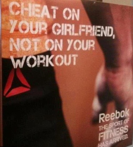 Unethical Advertising Slogan of the Month: Reebok | Ethics ... Unethical Ads Example
