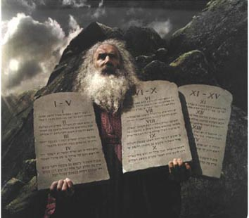 in case you were wondering what was on that third tablet that moses
