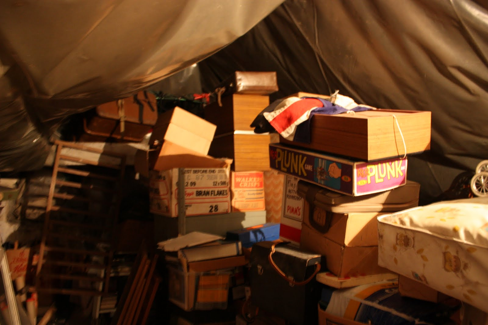 Image result for messy attic
