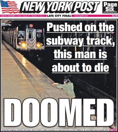 Subway Headline