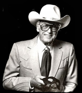 The Lone Ranger, a.k.a. Clayton Moore, unmasked.