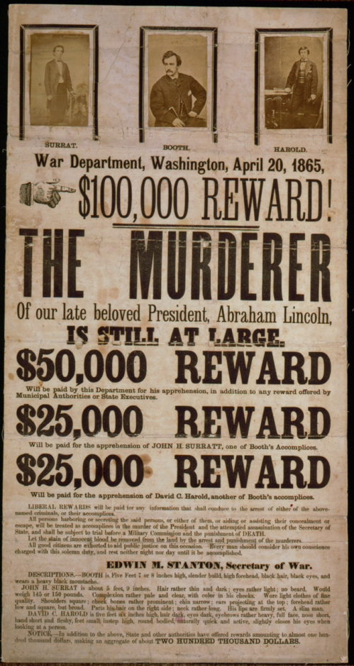 John_Wilkes_Booth_wanted_poster_colour