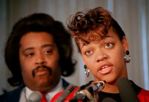 Al Sharpton and Tawana, ruining lives. Nice hair, Al.