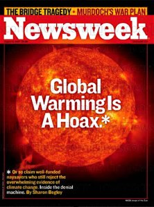 No, actually, Newsweek is now a hoax.