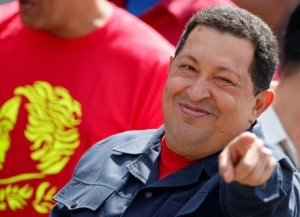 """""""We love you Hugo, we really do-oo! There isn't anyone, we love like you-oo! When you're not with us, we're blue! Oh, Hugo, we love you!""""---From the new musical, """"Bye-Bye Chavez,"""" written by Oliver Stone, starring Sean Penn!"""