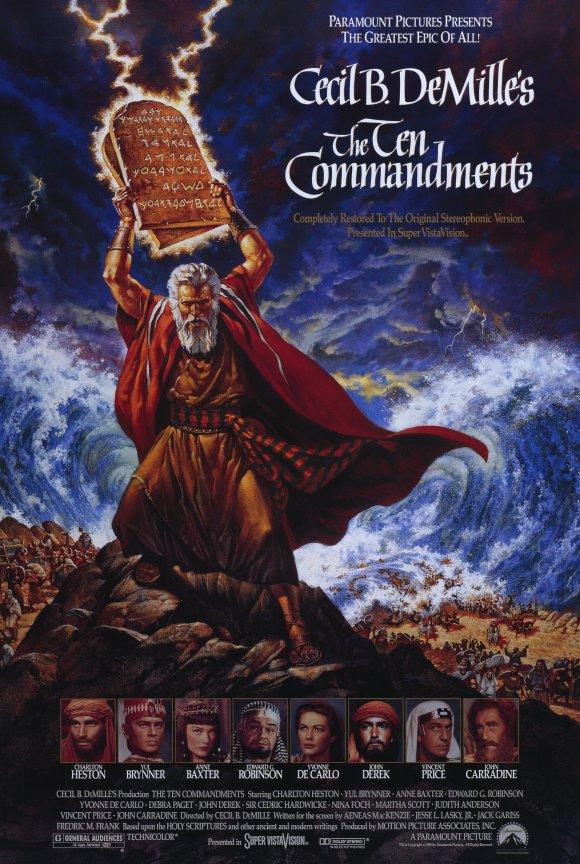 Moses Ten Commandments Movie March   2013   Ethics ...