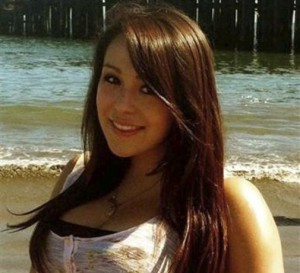 Audrie Potts, in a photo she didn't mind others seeing, in a way she wouldn't mind being seen