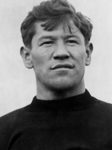 Jim Thorpe: Native American, Olympic Champion, baseball star, football star...football.