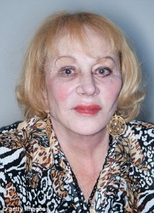Sylvia Browne, under fire for not being a real psychic by people who should know better.
