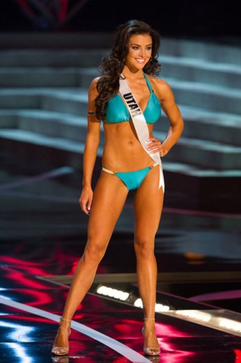 By all means, her views on social policy should determine her place in the MIss USA competition...