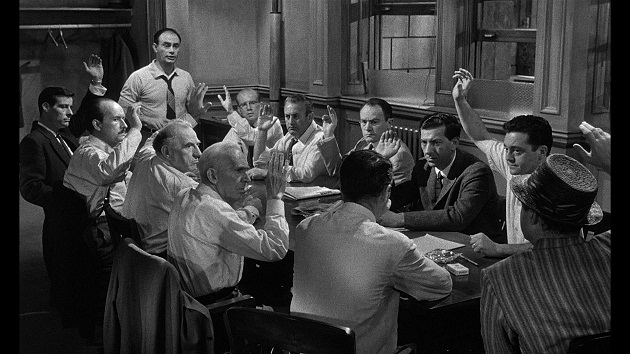 """The defendant found """"not guilty"""" in """"12 Angry Men"""" was also probably guilty..."""
