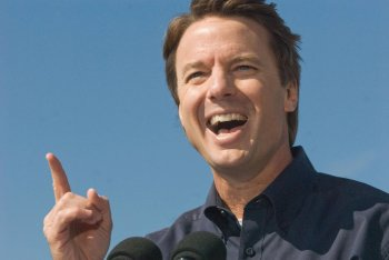 If John Edwards could hit...