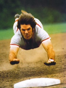 Pete Rose may have been a fool who  gambled on baseball, but he never, ever, failed to run hard to first base.