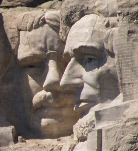 """You're right, Abe; they're all rock-heads. I'd like to beat some sense into them with a big stick, but I have no arms."""