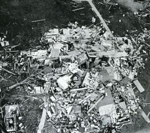Tornado ruin