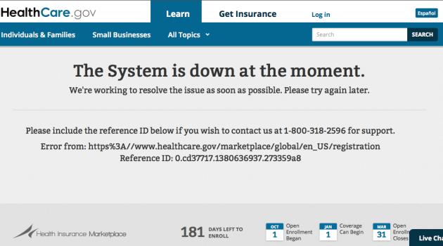 Healthcare down