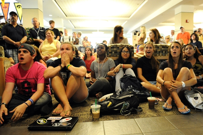 horrified students