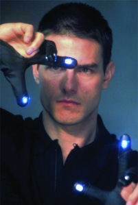 "The Sheriff of Polk County...wait, no, that's Tom Cruise, searching for pre-criminals in ""Minority Report."" Well, close enough."