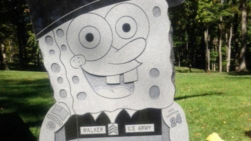 SpongeBob Gravestone Removed