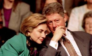 Big deal. Bill and Hillary ran as a faithful and loving married couple...