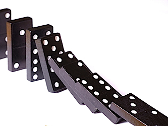 Blame the first domino, not the last one..