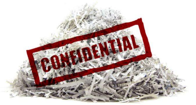 Shredded Files