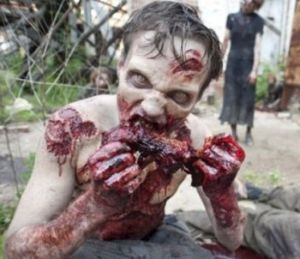 """The Walking Dead""...as always, providing abundant ethical dilemmas to chew on..."