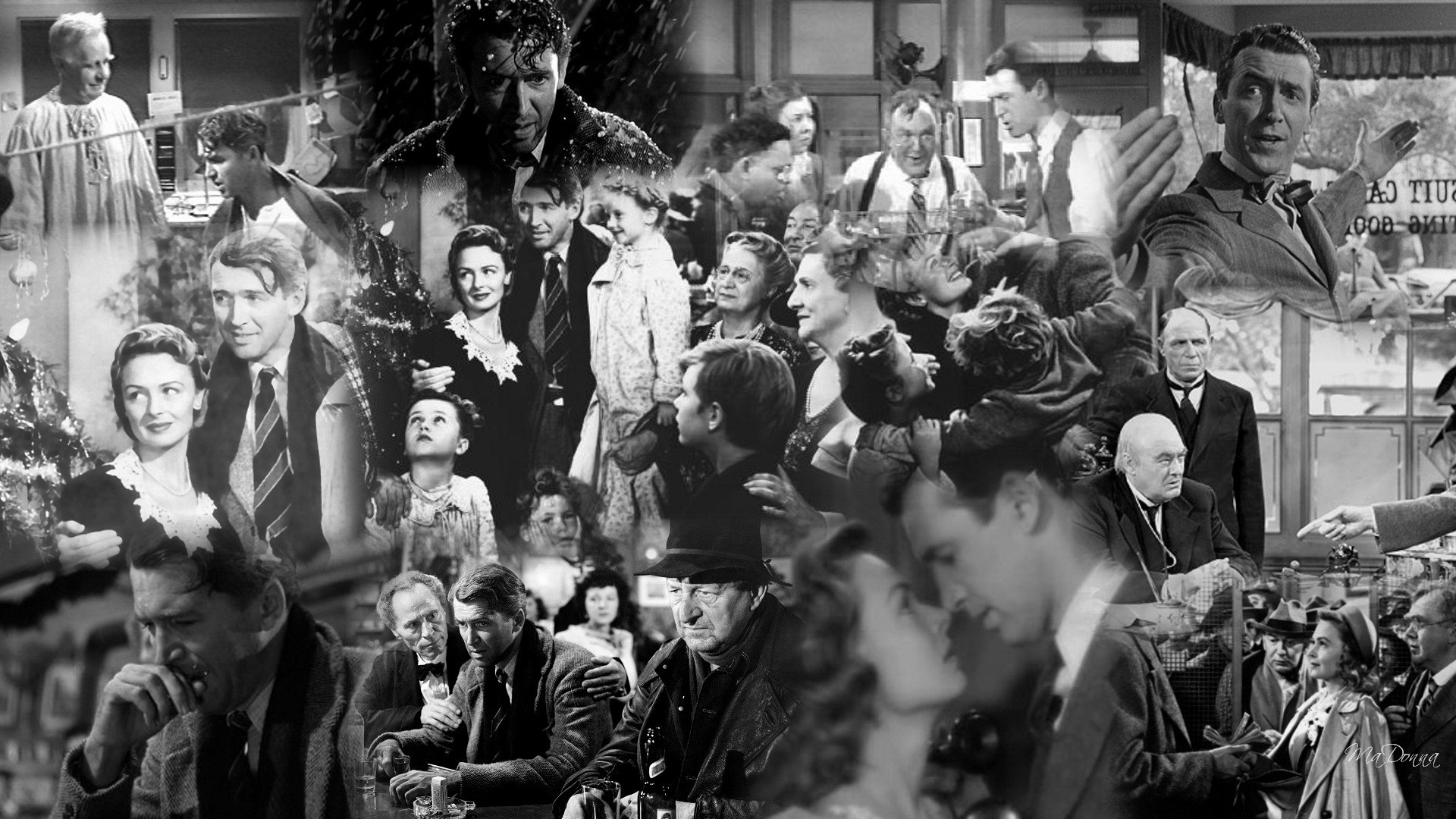 It s a wonderful life ethics alarms Classic christmas films black and white