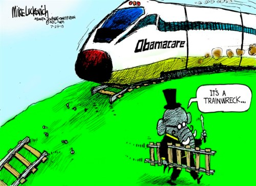 Trainwreck Cartoon