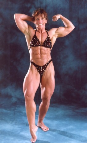 Bodybuilder mom