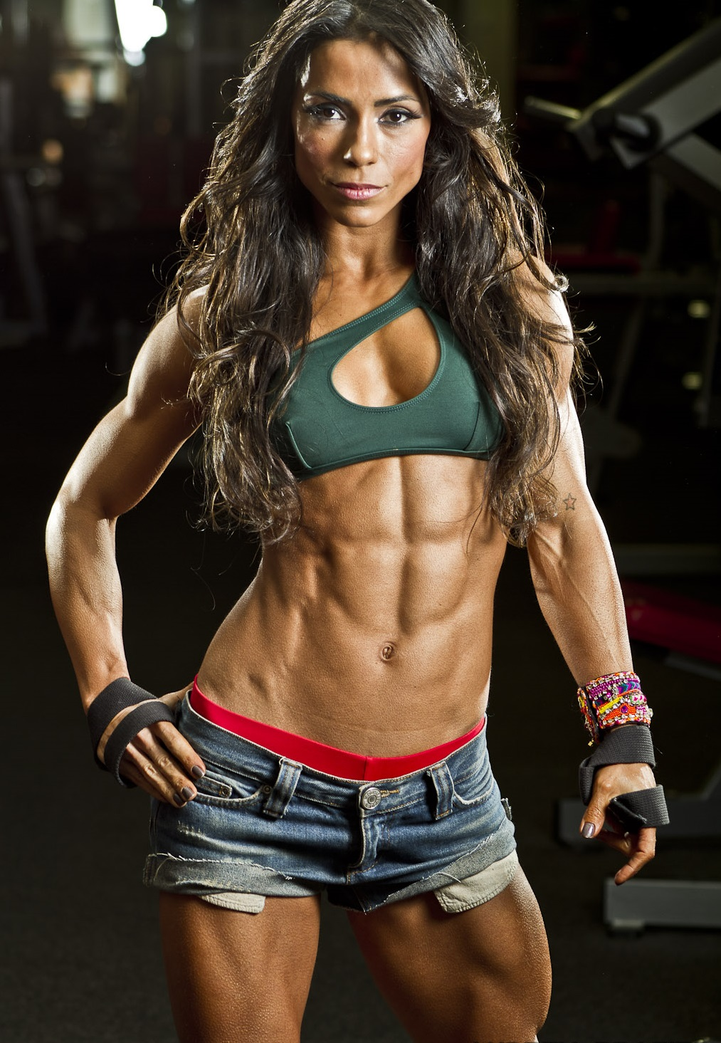 Female muscle women naked