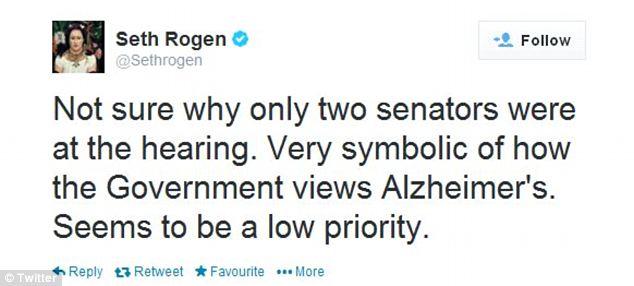 Rogen Tweet