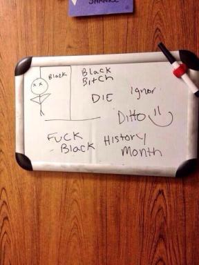 whiteboard hoax