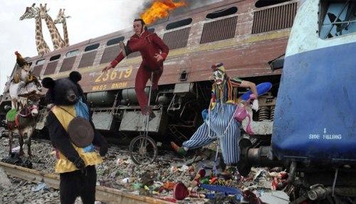 Circus Train wreck