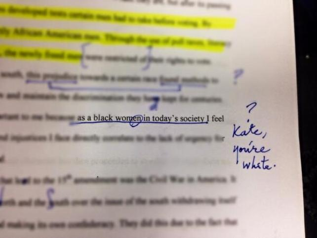 the blatant plagiarism conundrum if you make it obvious that you  plagiarized essay