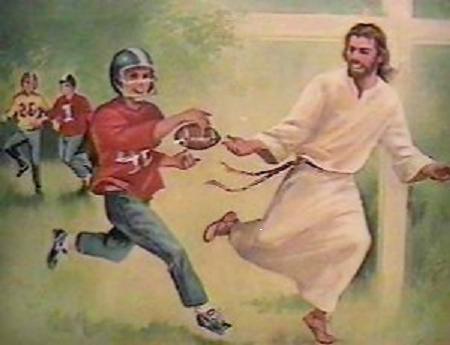 jesus football