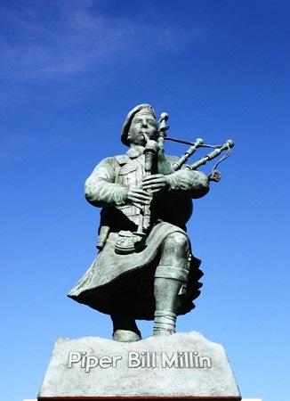 Millin statue