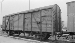 """""""Hey, I just deliver the boxcar contents to someplace called """"Aushwitz."""" It's not my business what's in them..."""""""