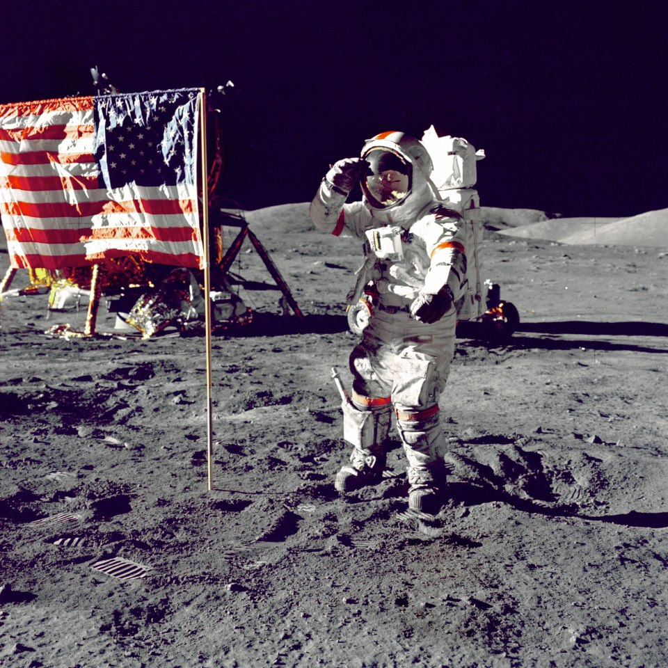 neil armstrong on the moon 1969 - photo #3