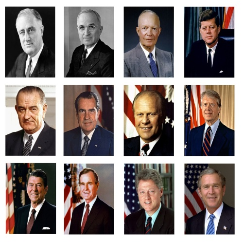 Presidents since WW II