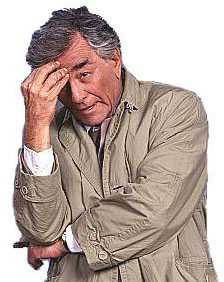 If a real Columbo was on his case, Tony Stewart might be in trouble.
