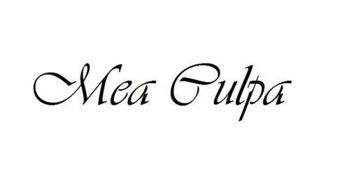 MeaCulpa