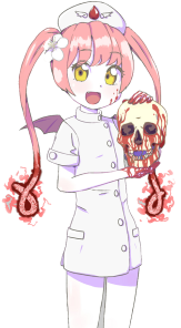 It's Ebola Chan! Isn't she hilarious?