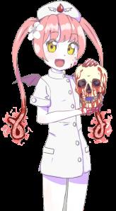 It's Ebola Chan! Isn't she hilarious?