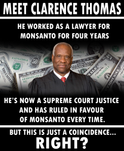 It's a coincidence that Monsanto had the better legal argument each time, yes. Is that what you mean?