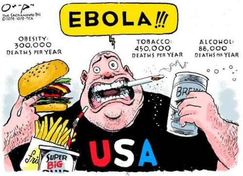 Ebola cartoon