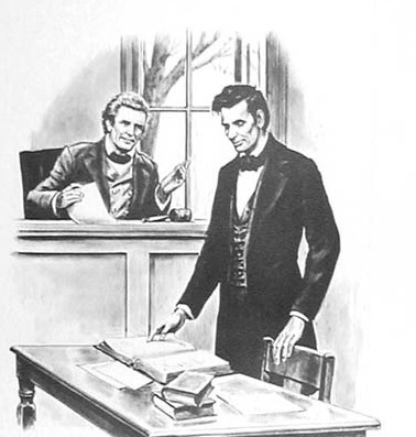Lincoln in trial