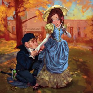 Campus sex is returning to the '50's....the 1850s.